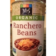 ranchero beans organic from whole foods 365